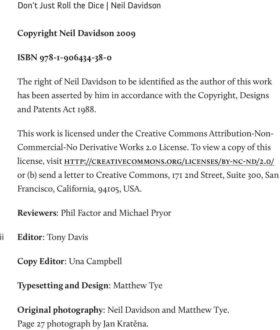 To view a copy of this license, visit http://creativecommons.org/licenses/by-nc-nd/2.