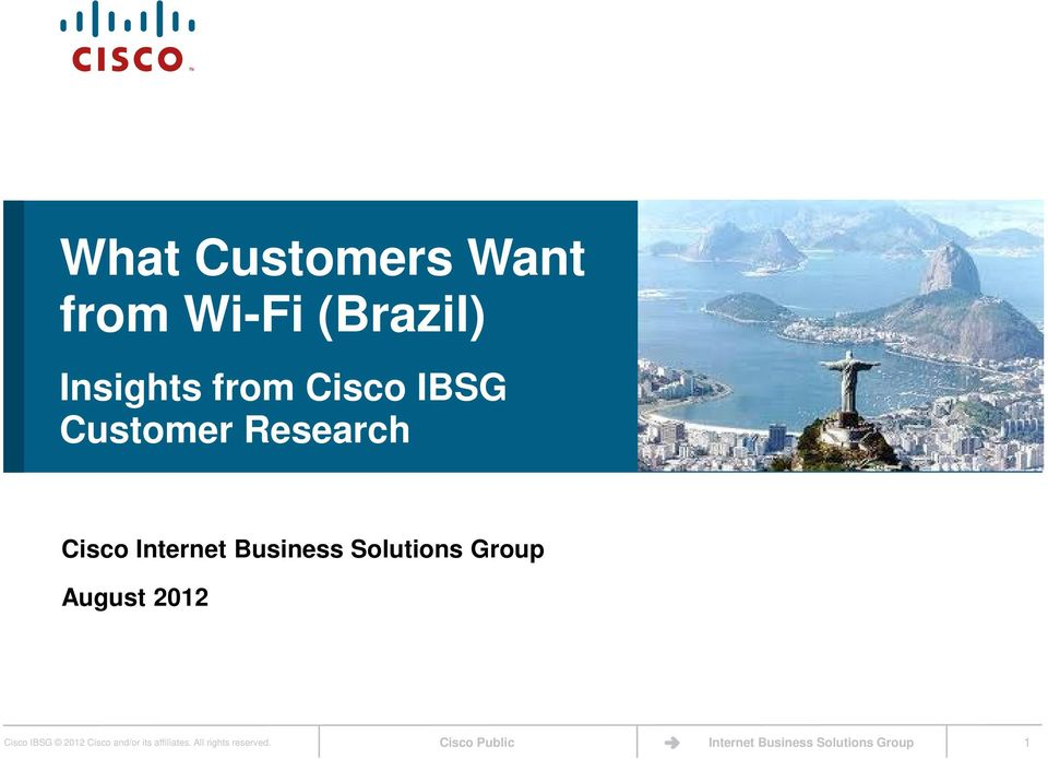 Cisco Internet Business Solutions Group