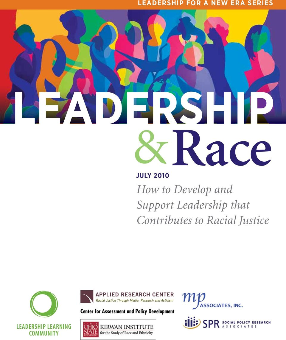 Leadership that Contributes to Racial