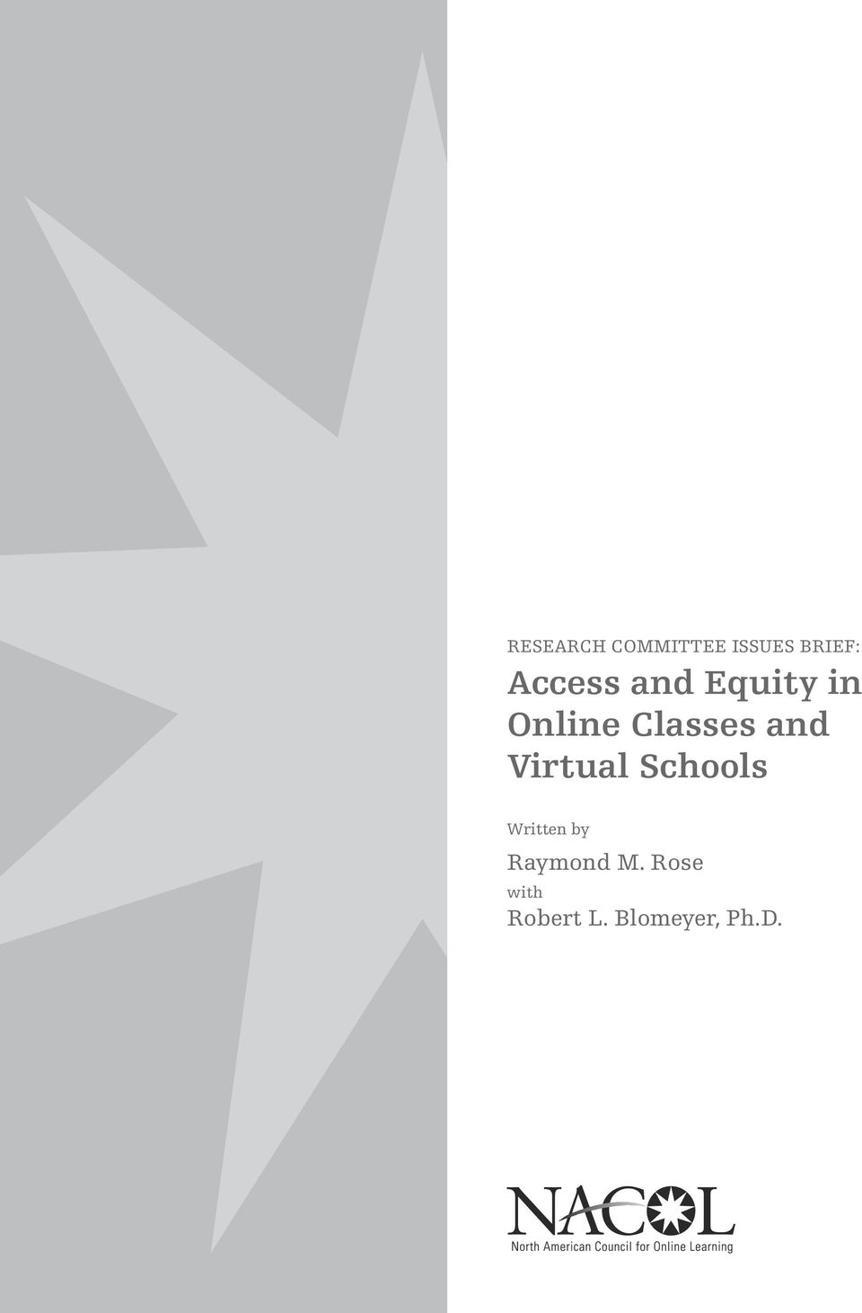and Virtual Schools Written by