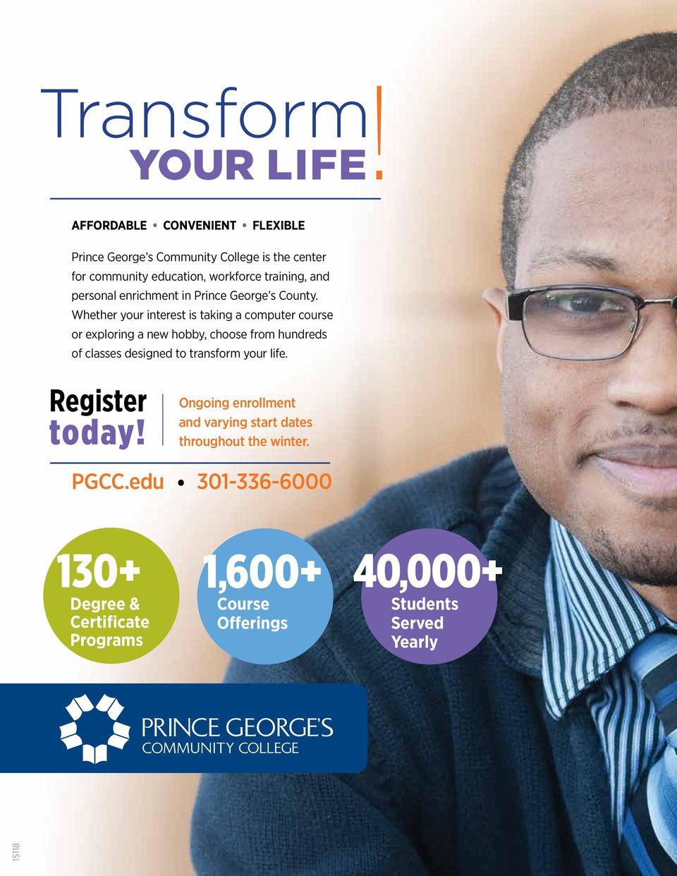 personal enrichment in Prince George s County.