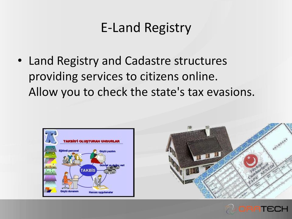 services to citizens online.
