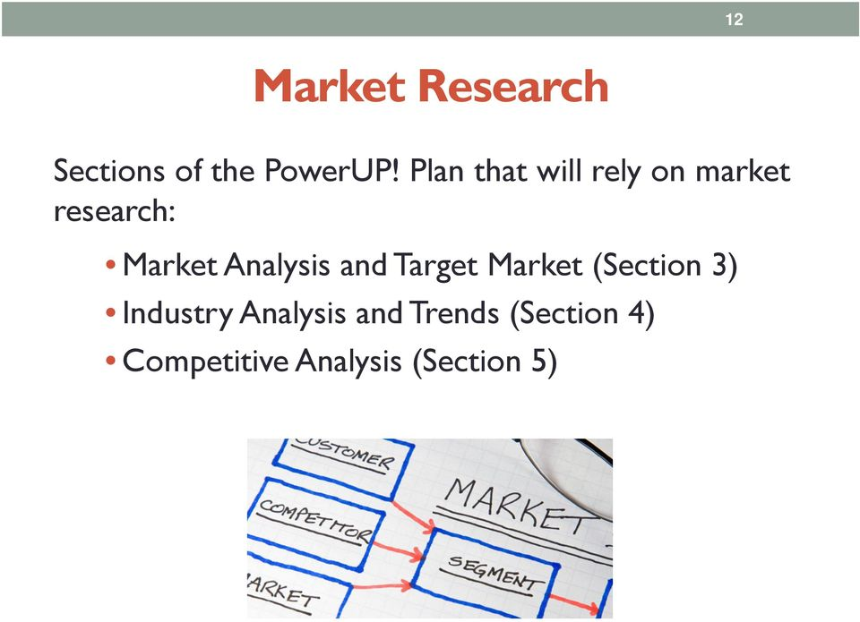 Analysis and Target Market (Section 3) Industry