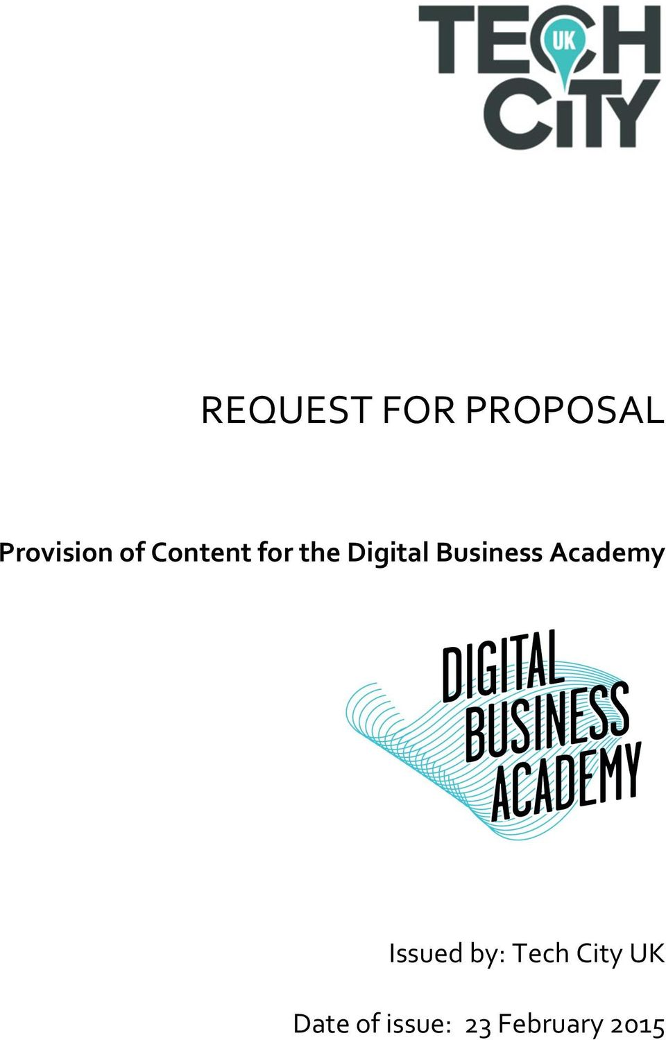 Business Academy Issued by: Tech