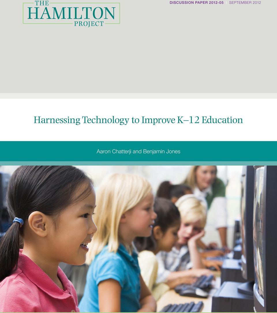 Technology to Improve K 12
