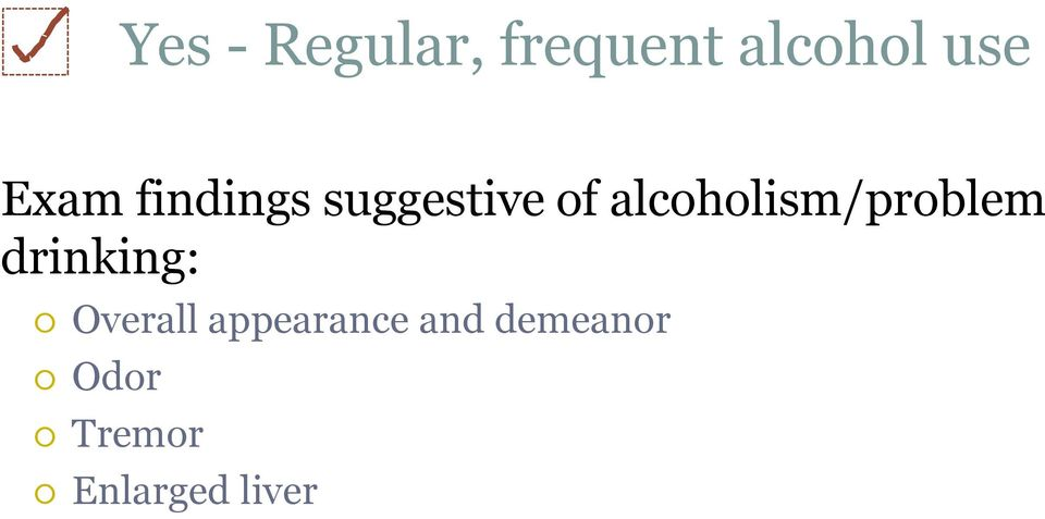 alcoholism/problem drinking: Overall