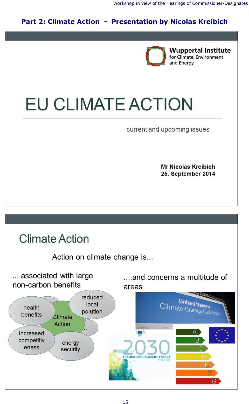 Presentation by Nicolas Kreibich Part 2: Climate
