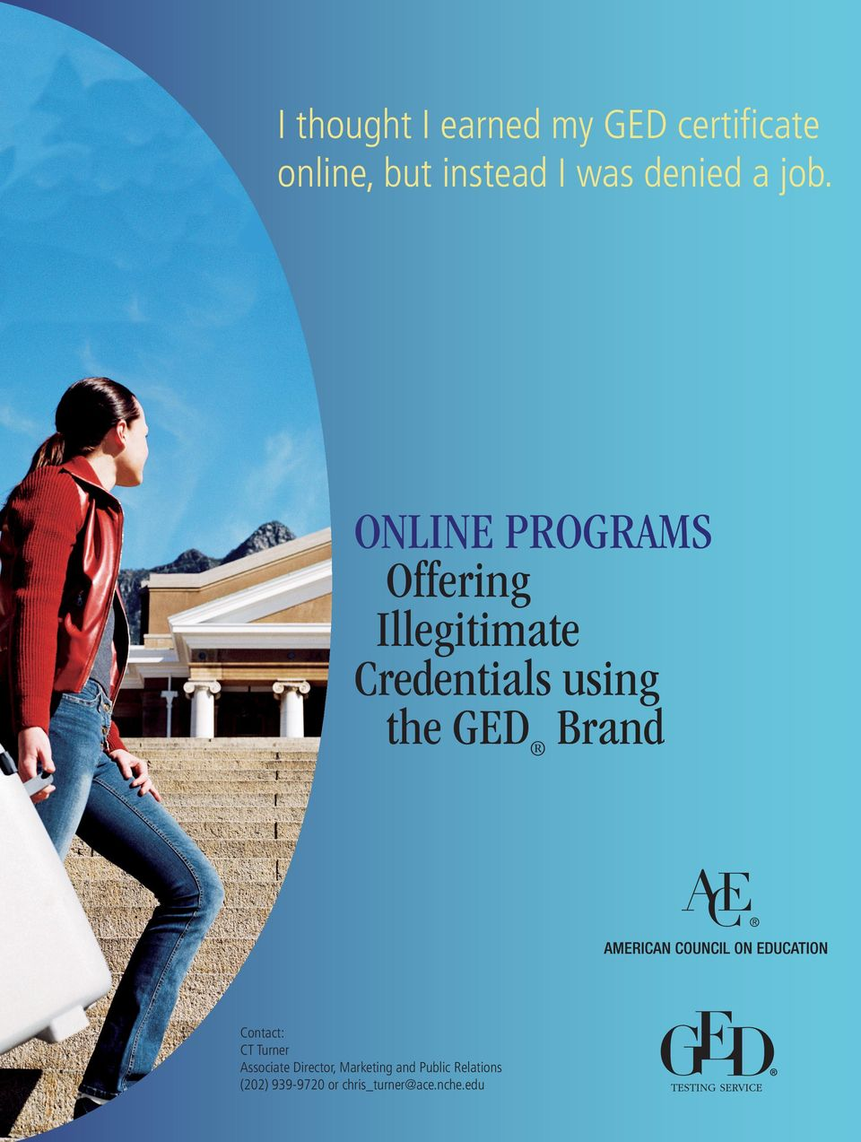 Online Programs Offering Illegitimate Credentials using the GED