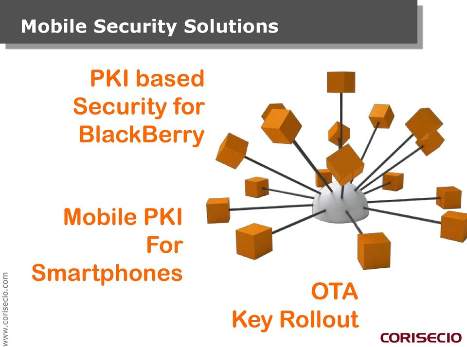Mobile PKI For
