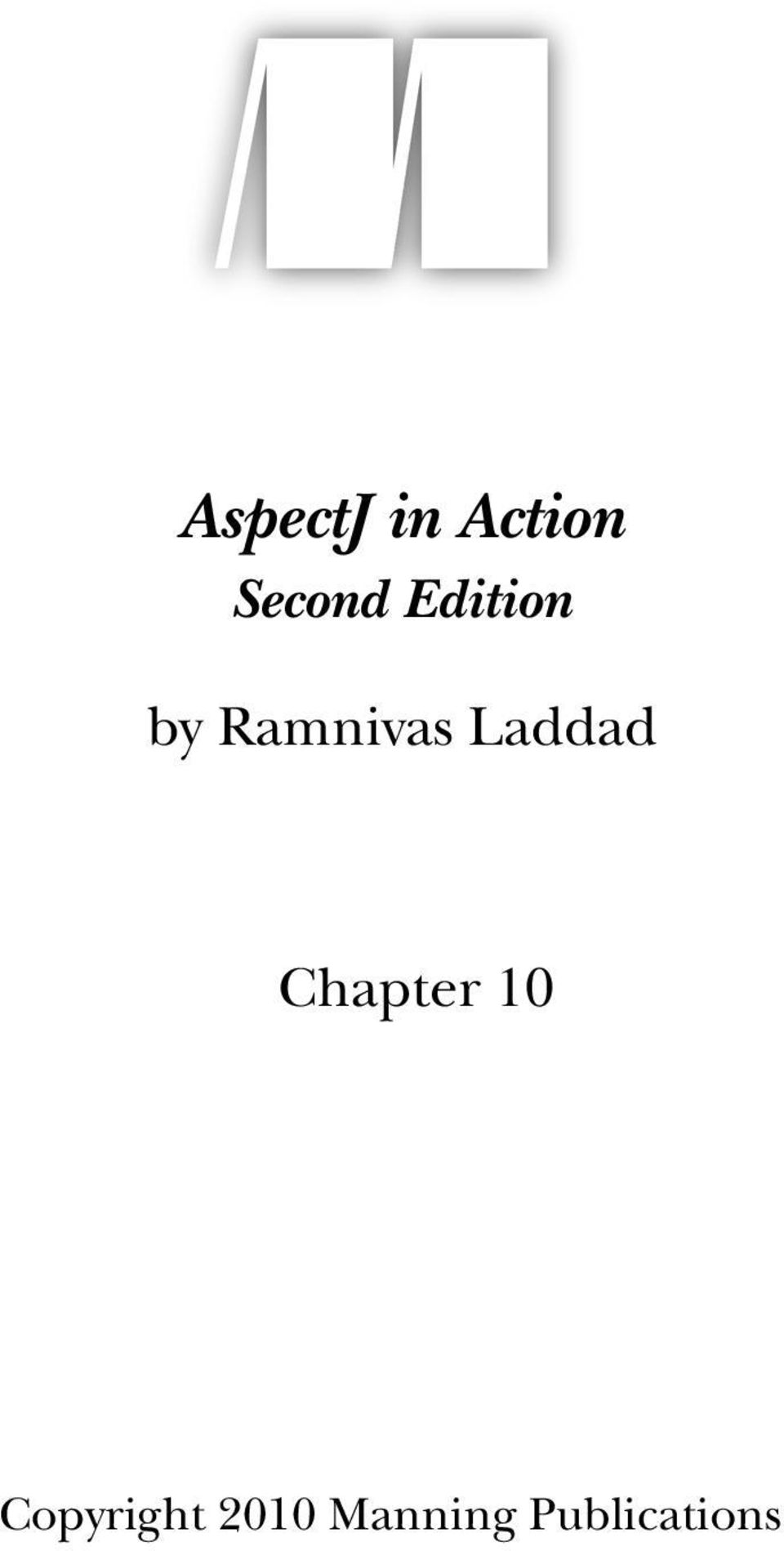 Laddad Chapter 10