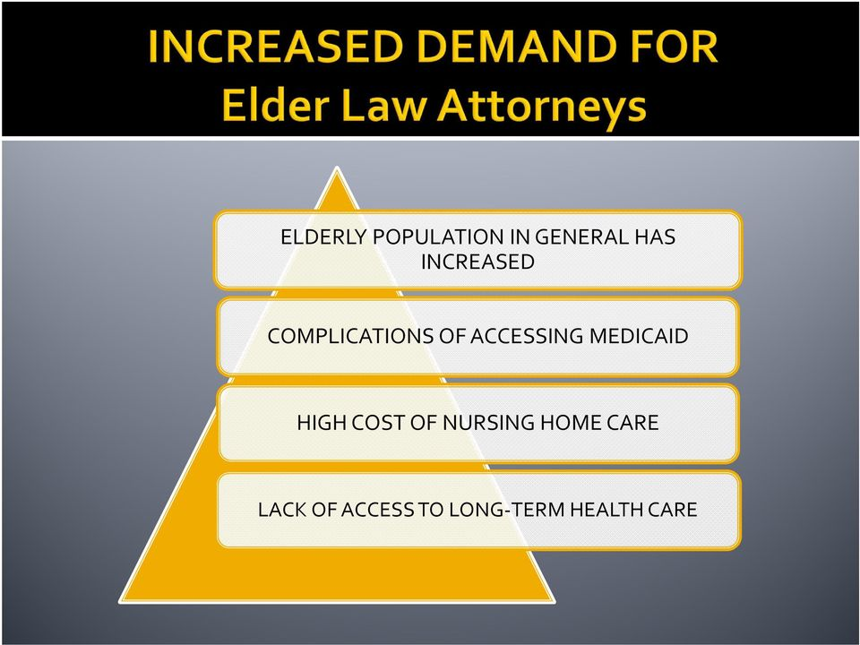 MEDICAID HIGH COST OF NURSING HOME