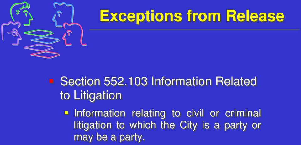Information relating to civil or criminal
