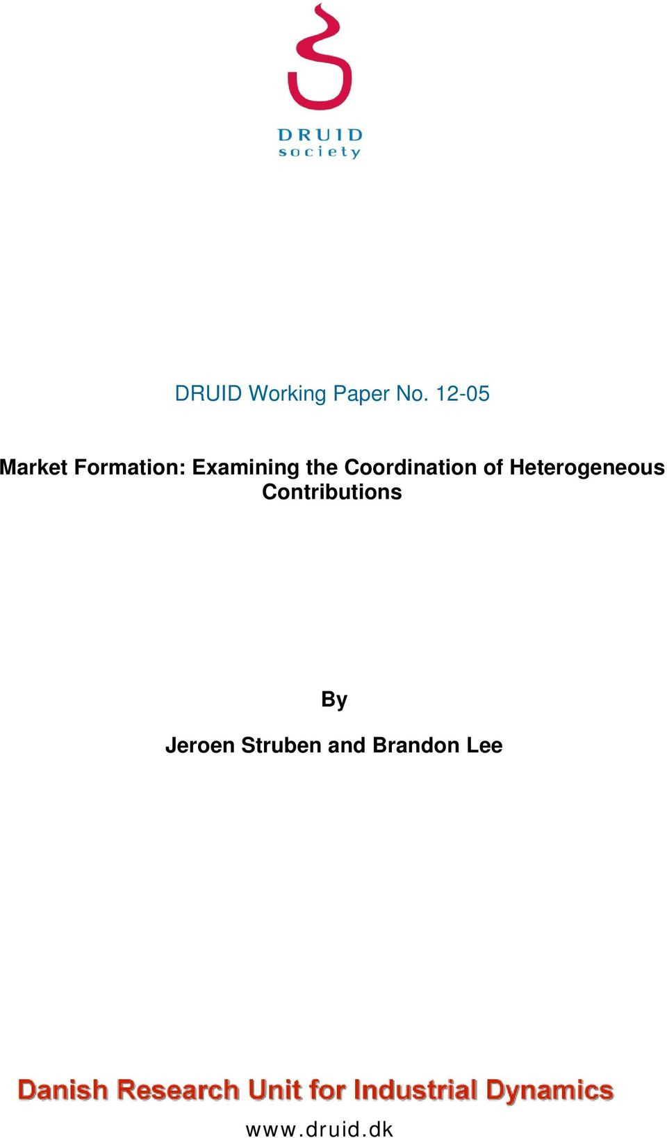 Coordination of Heterogeneous