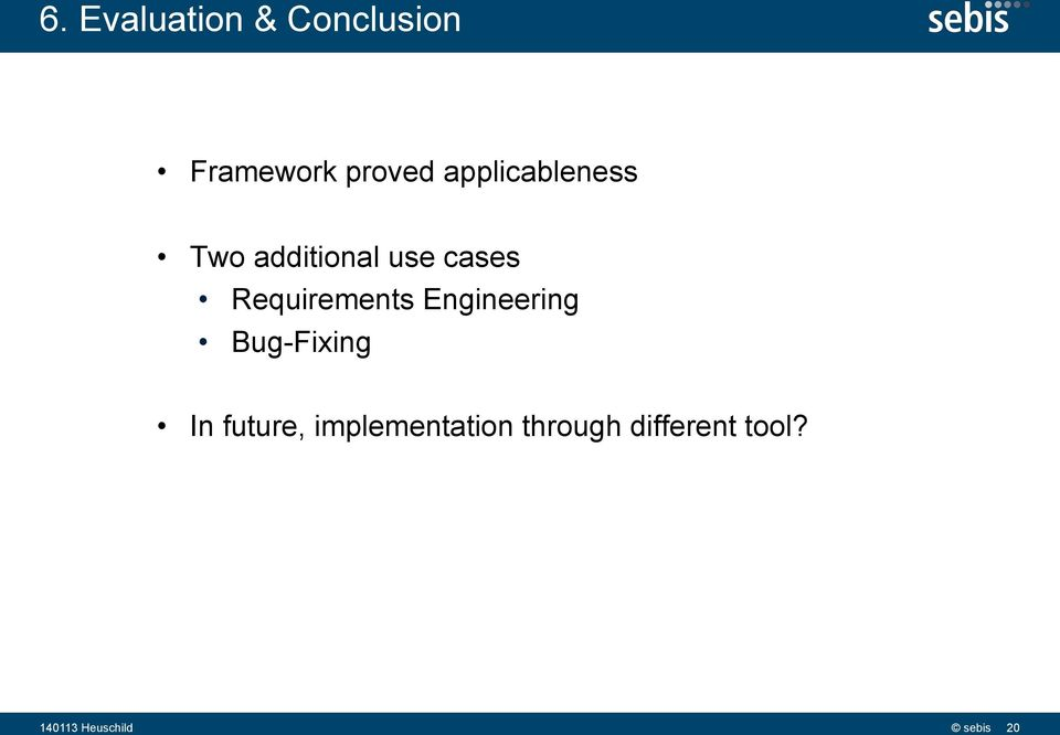 Requirements Engineering Bug-Fixing In future,