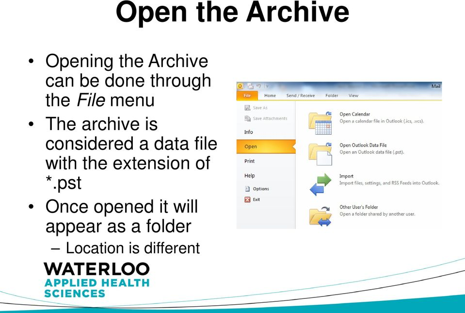 data file with the extension of *.