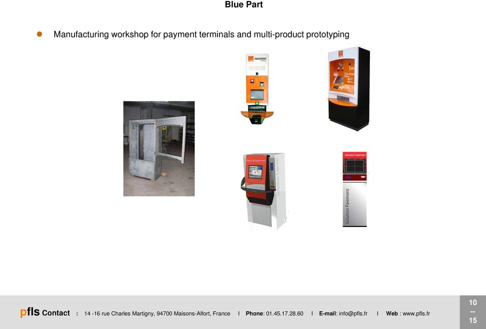 for payment terminals