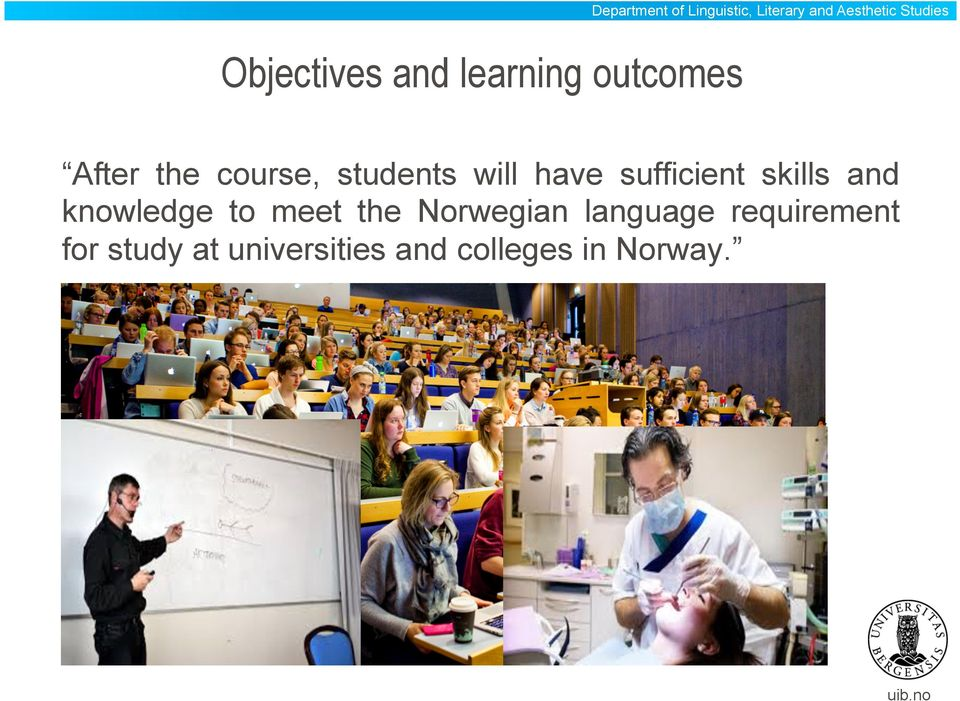 universities and colleges in Norway.