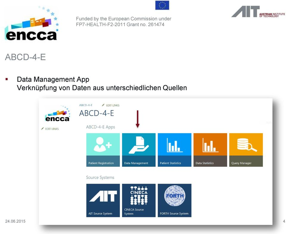 261474 ABCD-4-E Data Management App
