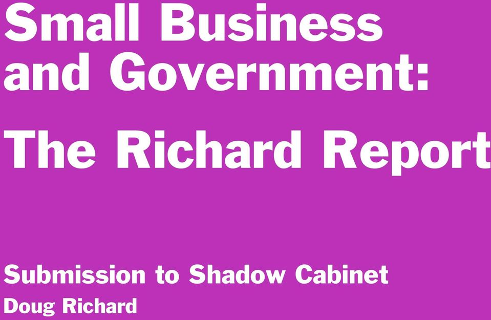 Richard Report