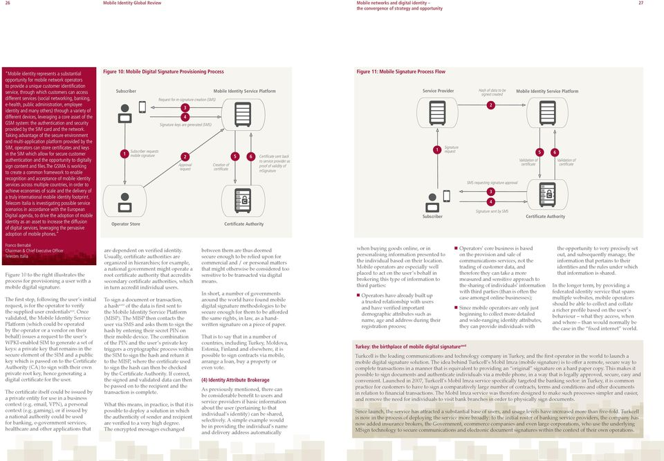 leveraging a core asset of the GSM system: the authentication and security provided by the SIM card and the network.