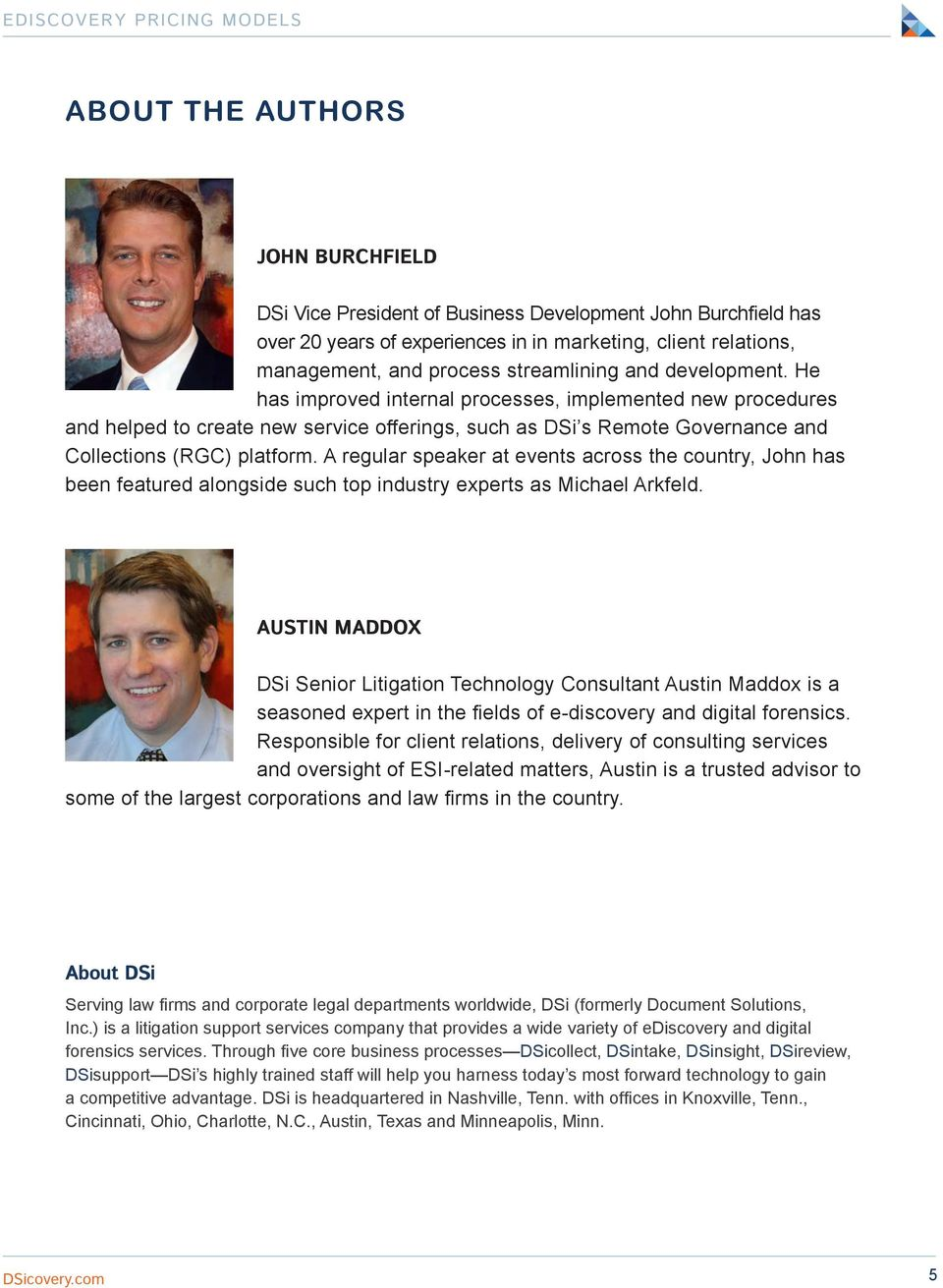 A regular speaker at events across the country, John has been featured alongside such top industry experts as Michael Arkfeld.
