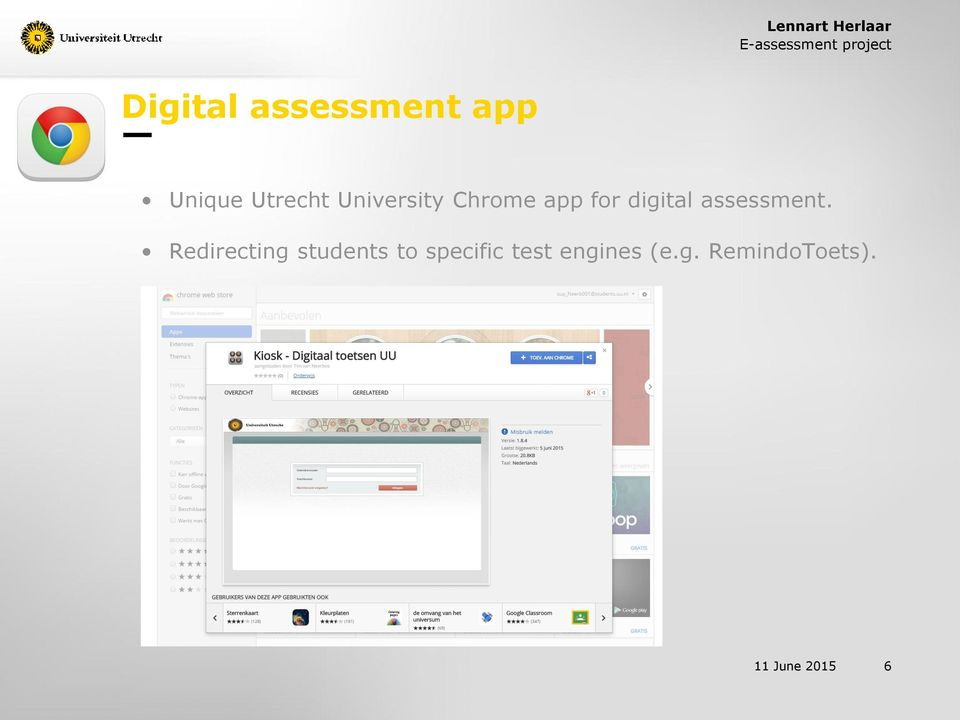 app for digital assessment.