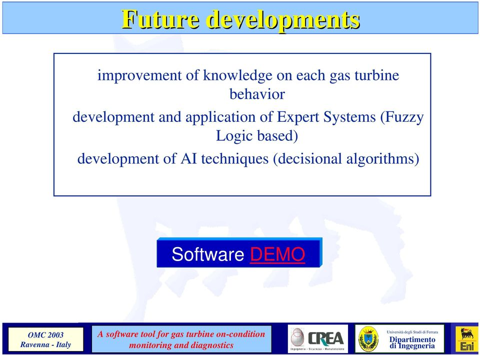 application of Expert Systems (Fuzzy Logic based)