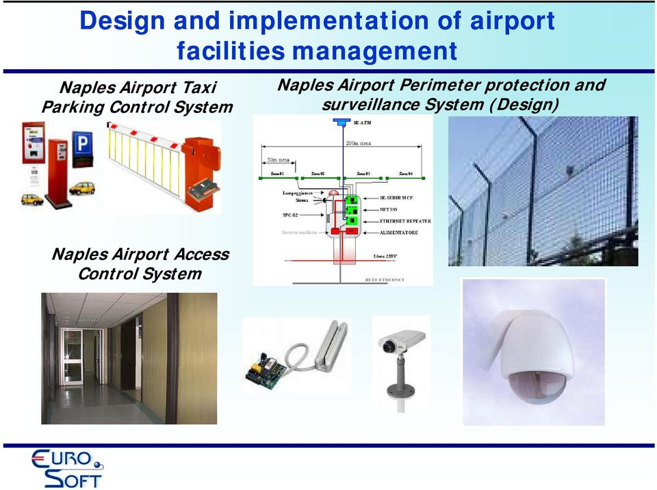 System Naples Airport Perimeter protection and