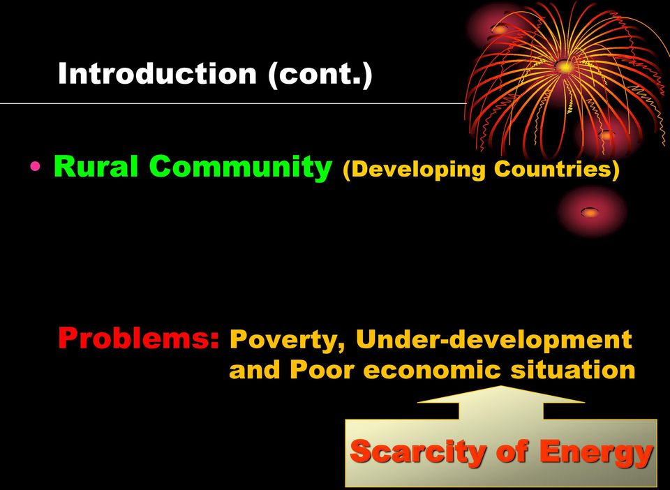 Countries) Problems: Poverty,