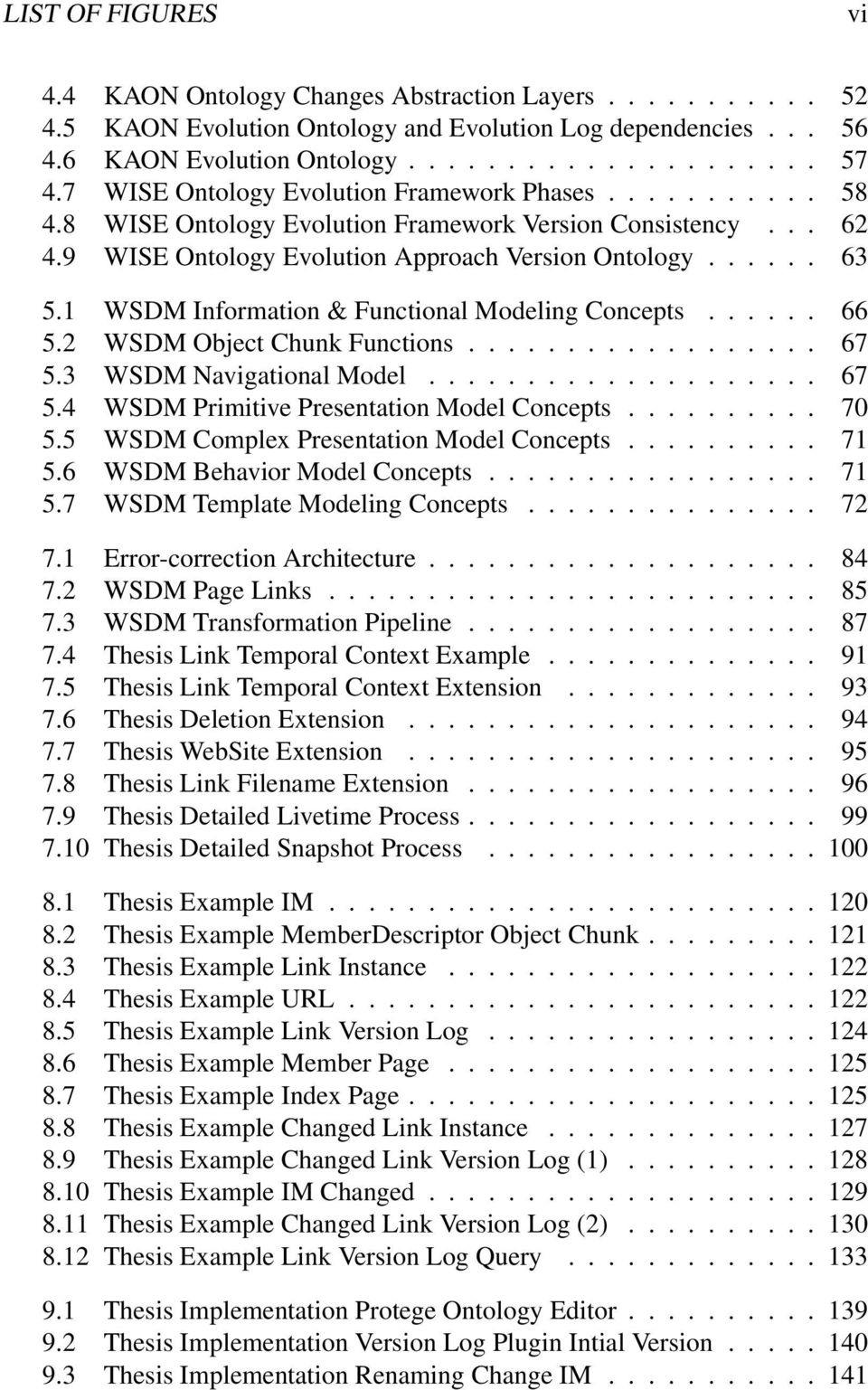 1 WSDM Information & Functional Modeling Concepts...... 66 5.2 WSDM Object Chunk Functions.................. 67 5.3 WSDM Navigational Model.................... 67 5.4 WSDM Primitive Presentation Model Concepts.