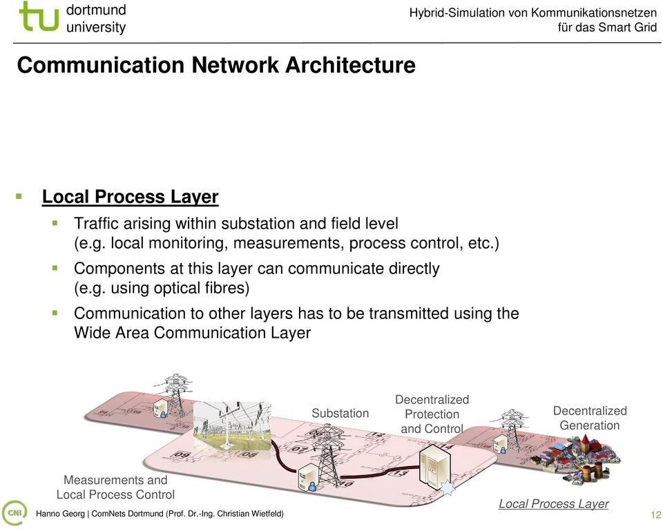 ) Components at this layer can communicate directly (e.g.