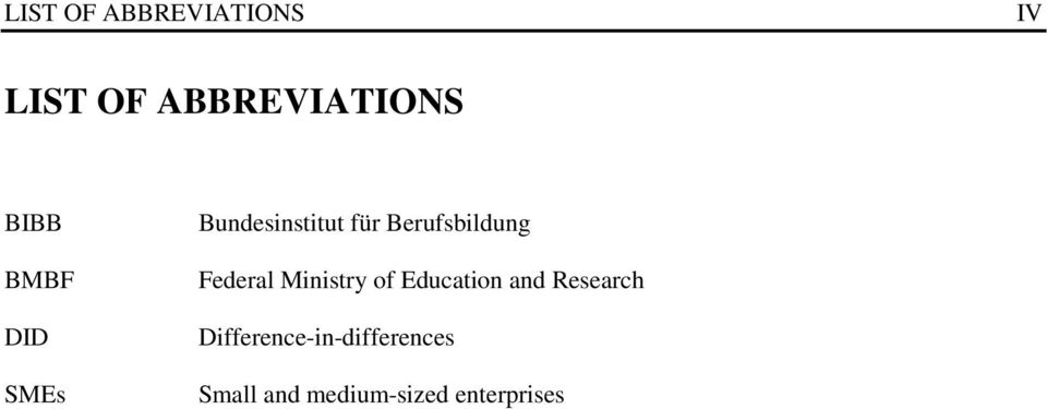 Berufsbildung Federal Ministry of Education and