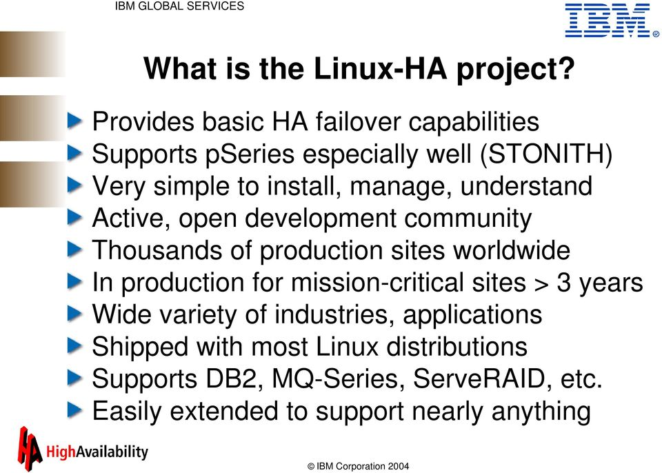 manage, understand Active, open development community Thousands of production sites worldwide In production