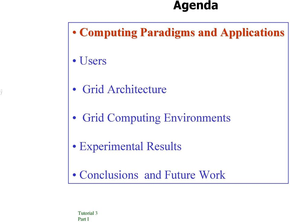 Architecture Grid Computing