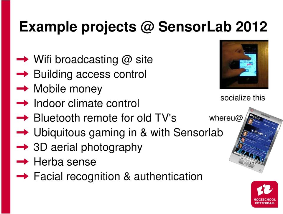 for old TV's Ubiquitous gaming in & with Sensorlab 3D aerial