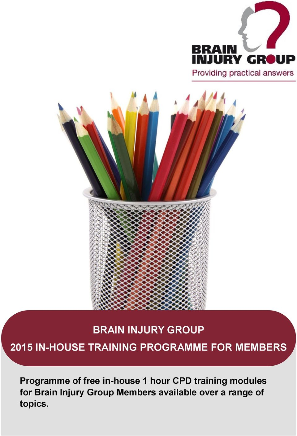 in-house 1 hour CPD training modules for