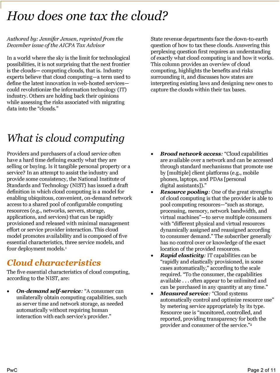 frontier is the clouds computing clouds, that is.