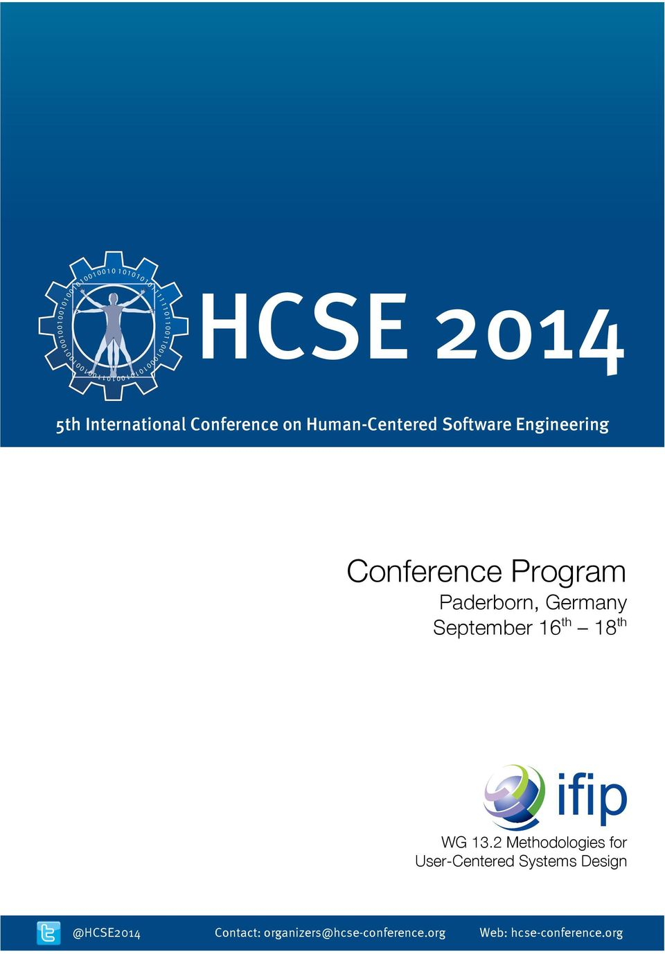 International Conference on Human-Centered Software Engineering Conference Program