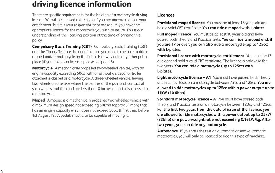 This is our understanding of the licensing position at the time of printing this policy.