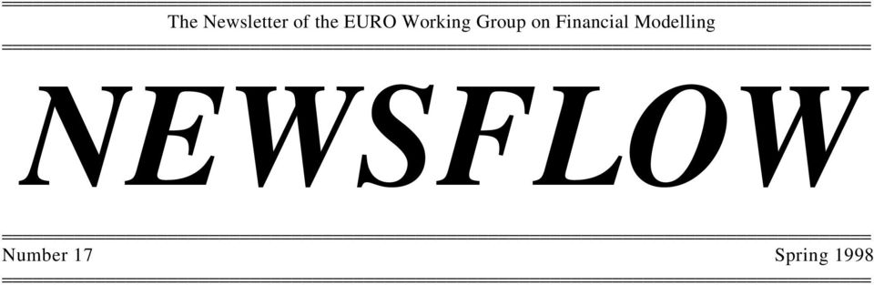 Group on Financial