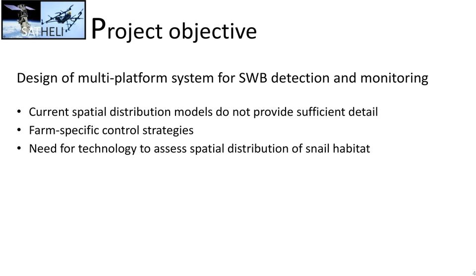 not provide sufficient detail Farm-specific control strategies