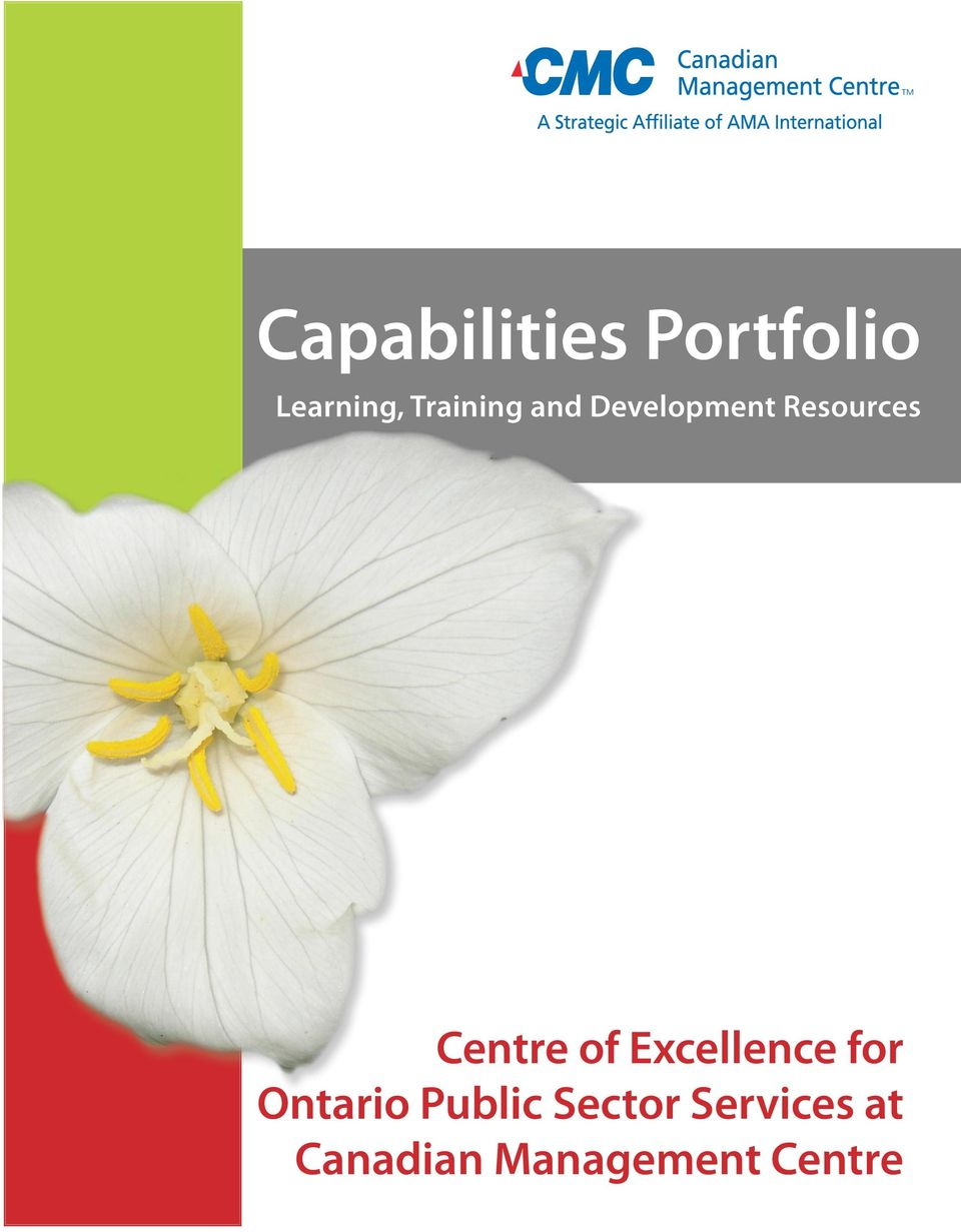 Centre of Excellence for Ontario