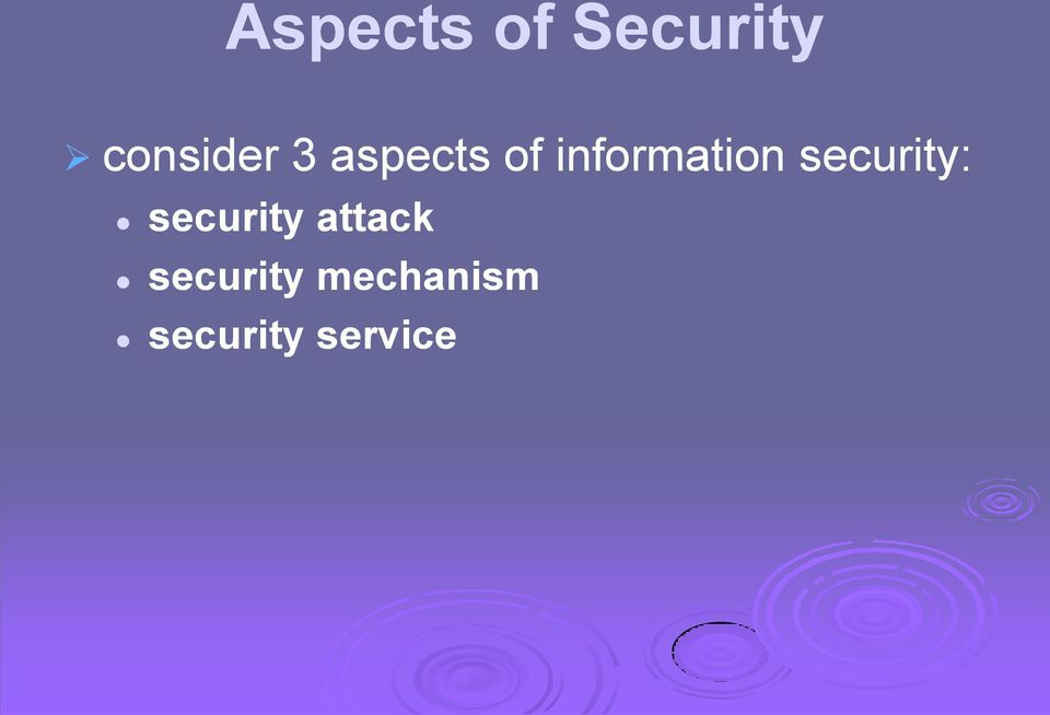 security: security attack