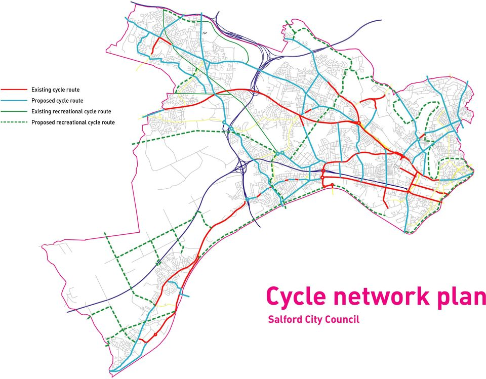 route Proposed recreational cycle