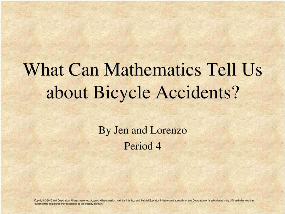 Bicycle Accidents?