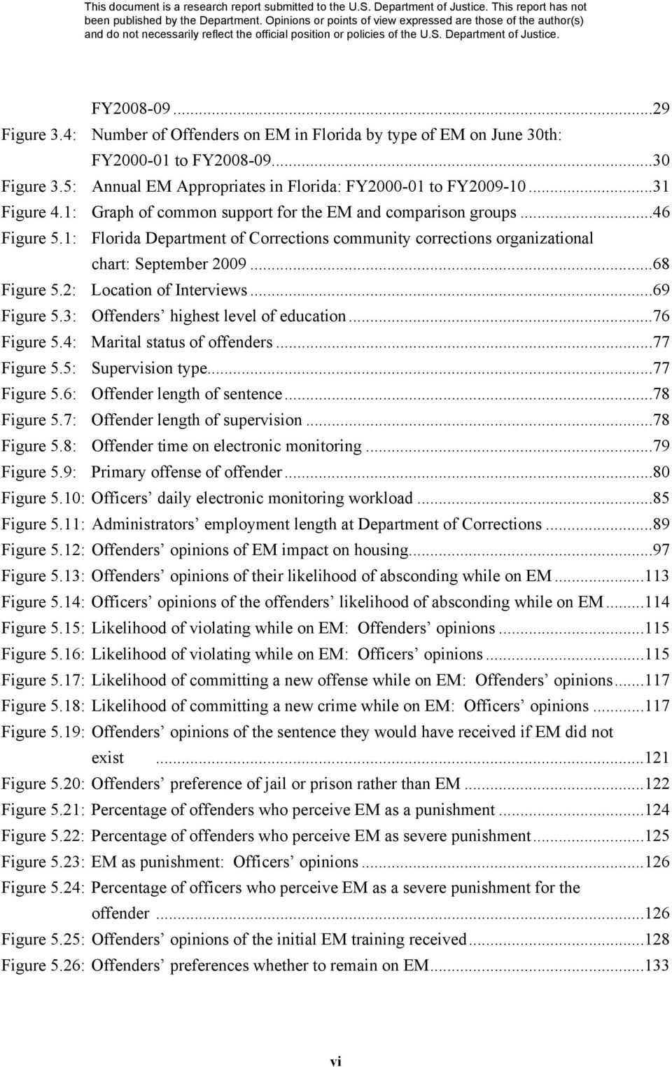 2: Location of Interviews...69 Figure 5.3: Offenders highest level of education...76 Figure 5.4: Marital status of offenders...77 Figure 5.5: Supervision type...77 Figure 5.6: Offender length of sentence.