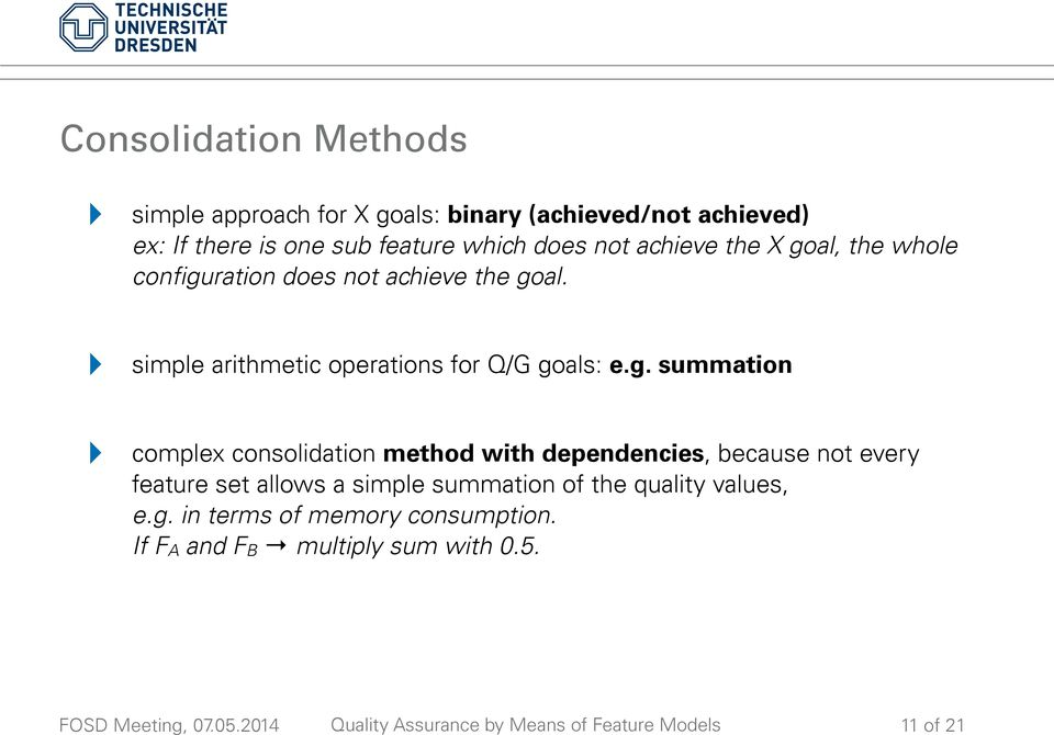 ! simple arithmetic operations for Q/G goals: e.g. summation!