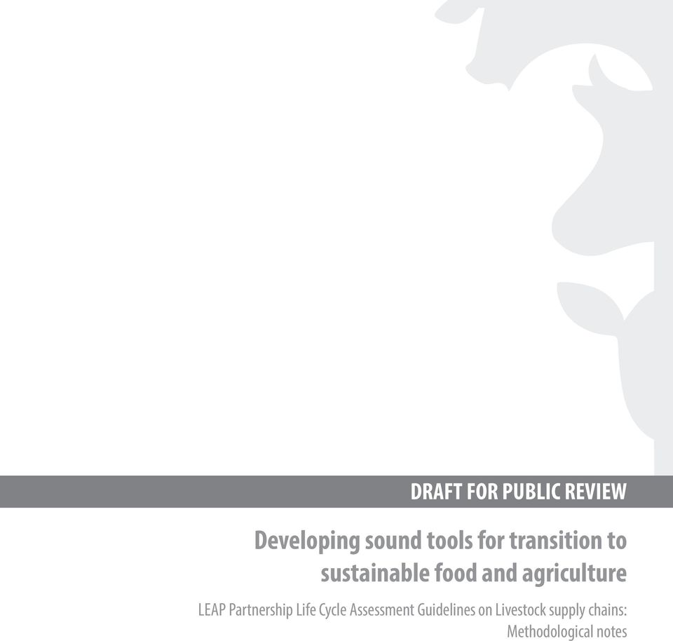 agriculture LEAP Partnership Life Cycle