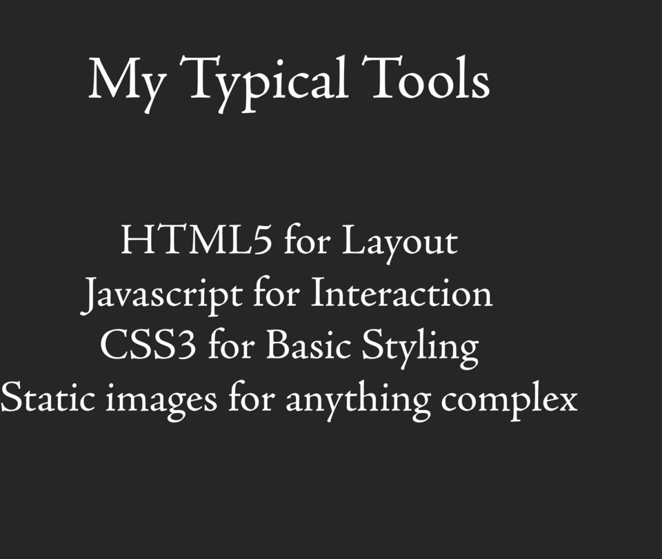 Interaction CSS3 for Basic