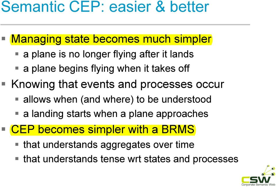 allows when (and where) to be understood a landing starts when a plane approaches CEP becomes